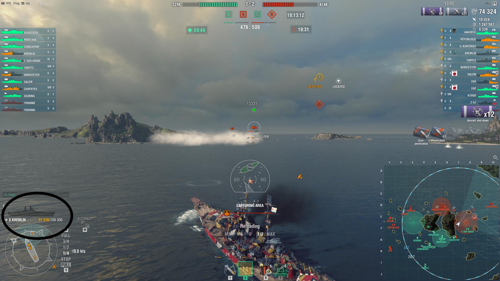 Ship Health Bar Glitch Gameplay World Of Warships