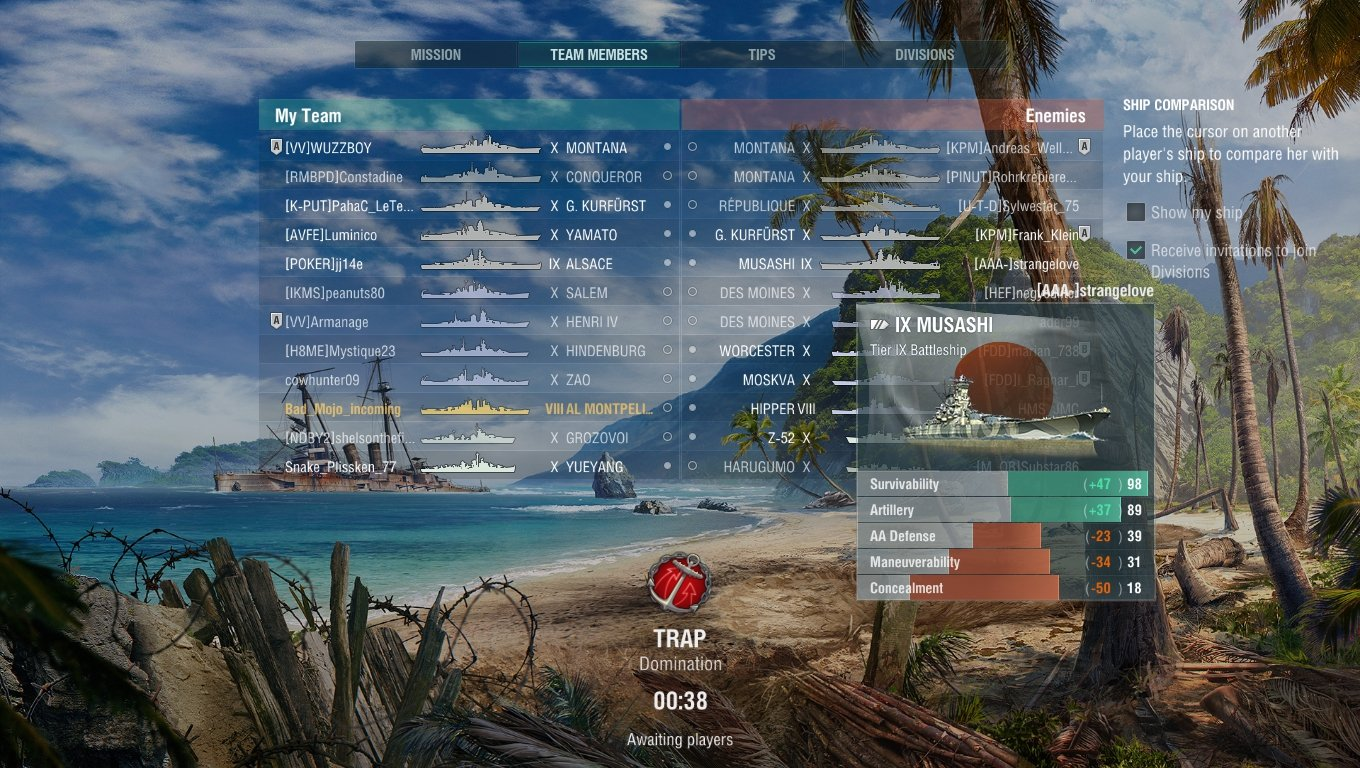 WOT Tier 7 matchmaking