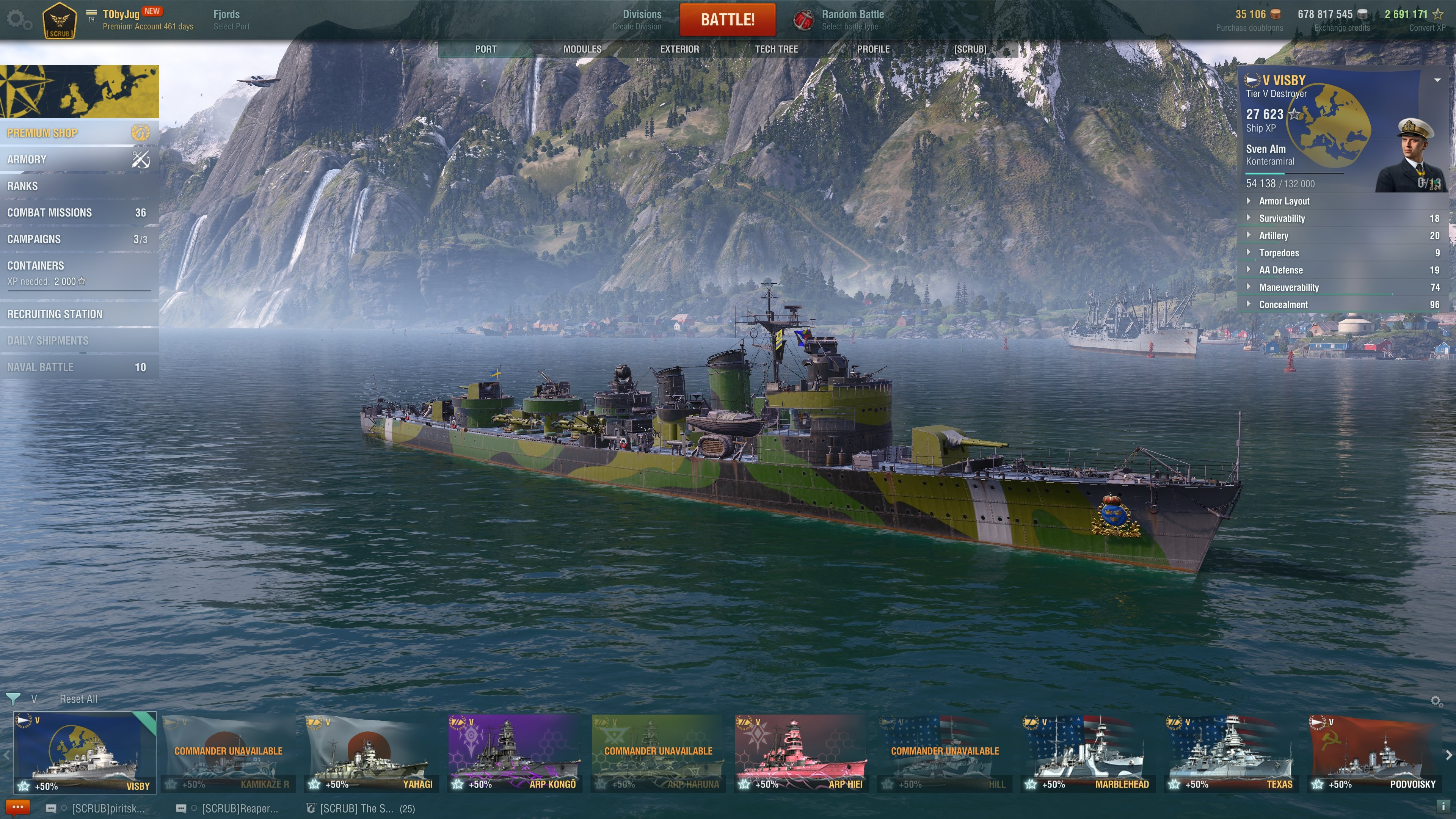 T X Dd Lapland General Discussion World Of Warships Official Forum